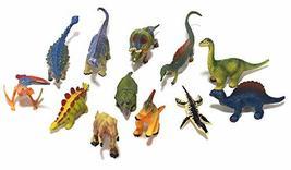 Korea Education System Miniature Dinosaur Figures Set 9 (12 Counts)