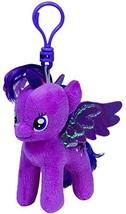 Ty Beanie Baby–My Little Pony–Twilight Sparkle Keychain ty41104 - $7.13