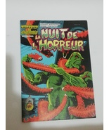 comic book nuit de la H ORREUR rare marvel 1983 vintage COMIC FRENCH  - $99.00