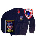 FDNY Shirt Sweatshirt Officially Licensed by The New York City Fire Depa... - $29.99