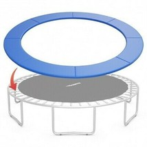 8FT Replacement Safety Pad Bounce Frame Trampoline-Navy - Color: Navy - $83.78