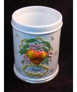 Vintage Le Cordon Bleu Franklin Mint Peach Pattern Sugar Canister - $99.99