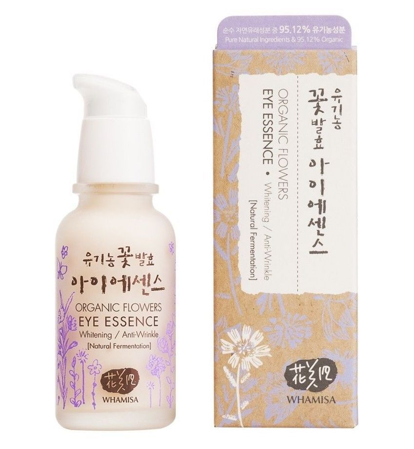 Whamisa Organic Flowers Eye Essence 40ml