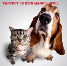 Animal Pet Protection Spell Collar Charm Black Voodoo Magick Safe From Harm 4 Eva - $10.72
