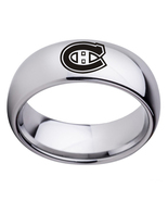 8mm montreal canadiens logo arc titanium steel fan ring 52 copy thumbtall