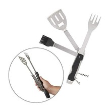 BBQ Multi Tool Set Cooking Stainless Steel Indoors and Outdoors for Wint... - $39.59