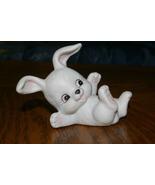 Homco White Bunny 1458 Rabbit Home Interiors - $5.00