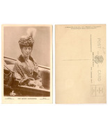Old Sepia Photographic Postcard - Queen Alexandra - $10.00