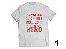 Best Funny graphic any man can be a father t-shirt - $266,16 MXN+