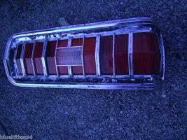 1974 MERCURY COUGAR RIGHT TAILLIGHT OEM USED WEAR PITT PHOTOS IN DESCRIP... - $189.34