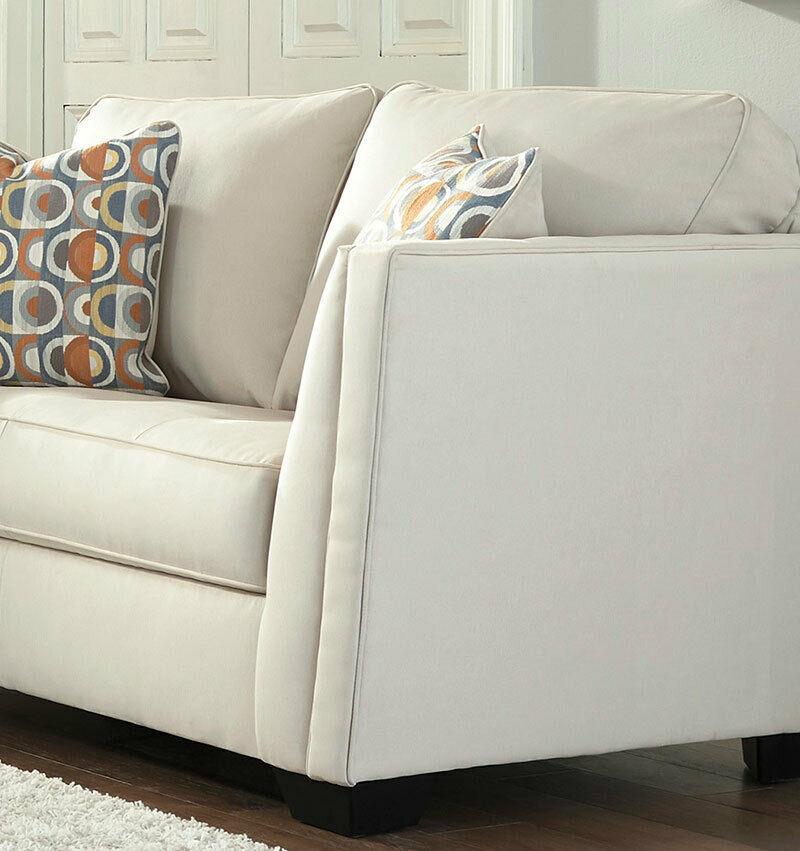 Meggett Sofa - Off White | Home Furniture Plus Bedding