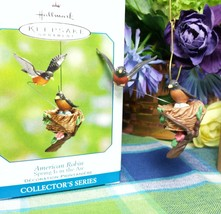 Hallmark Spring is in the Air American Robin ornament -QEO8506 - $16.58