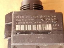 03 Mercedes W203 C240 ECU Engine Computer EIS Ignition FOB ISL Set A1121532979 image 2