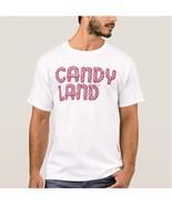CANDY LAND STACKED LOGO T-SHIRT - $15.99+