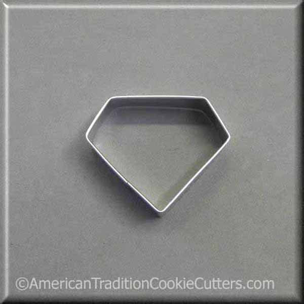 "2.5"" Diamond Metal Cookie Cutter #NA9211"