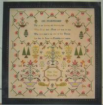 Kezia Coles 1802 sampler cross stitch chart Samplers Revisited - $18.00