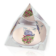 "Cat Sail By Myself Nautical Tattoo Illustrated Animal Art 3.25"" Crystal ... - $29.95"