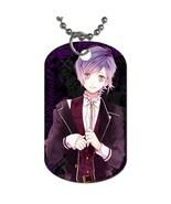 Kanato Sakamaki Diabolik Lovers Manga Anime Dog Tag necklace Keychain - $10.00