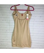 Spanx Slimplicity 990 Open Bust Slip Size L Nude Full Shaping Slimming S... - $83.15