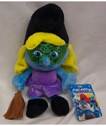 """The Smurfs HALLOWEEN SMURFETTE AS WITCH 13"""" Plush STUFFED ANIMAL Toy NEW... - $19.80"""