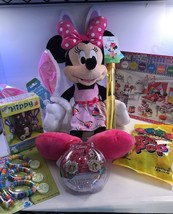 Disney Minnie Mouse Pre-Made & Pre-Filled Gift Basket Full Of Goodies  - $39.48