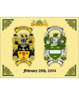 Celtic Style Double Coats of Arms Print SPECIAL... - $26.99