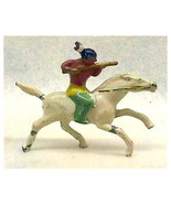 Barclay B226 Indian on Horseback Metal Figurine - $22.00