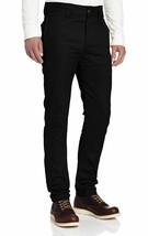 Dickies Men's Slim Skinny Fit Twill Work Pant Black 38W x 34L Flex Fabric NEW - $23.04