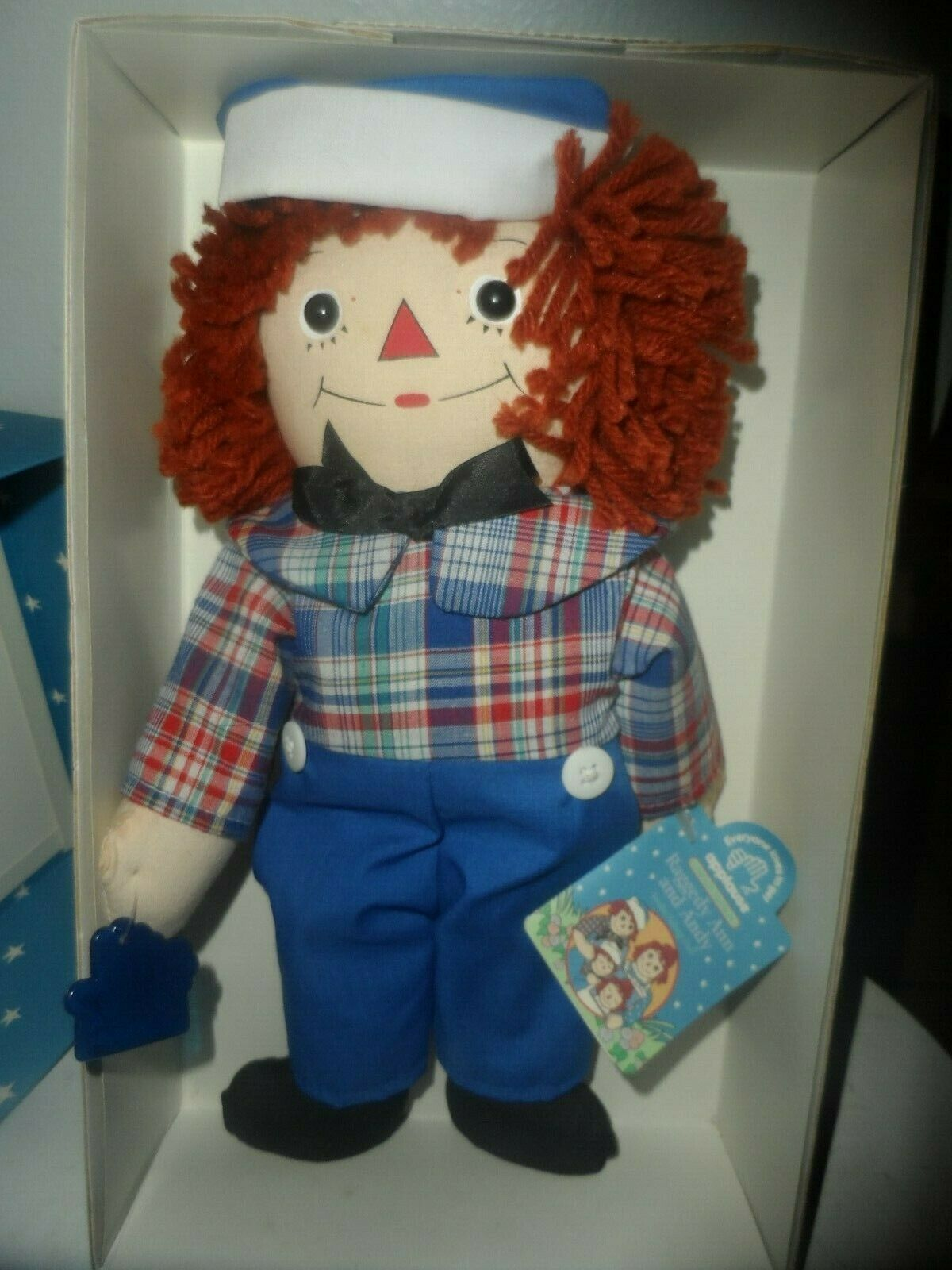 LIMITED EDITION Raggedy Andy Awake/Asleep Doll by Applause