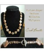 Autumn Jasper Necklace - New - $25.00