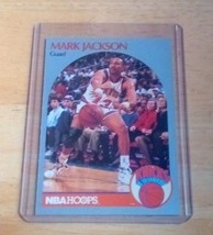 1990-91 Hoops #205 Mark Jackson W/Brothers US Free Shipping - $17.73