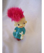 """1970 """"It's the Berries"""" Little Purple Haired Girl Figurine Get Well Soon - $14.95"""