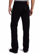 NEW LEVI'S STRAUSS 505 MEN'S ORIGINAL REGULAR FIT BLACK JEANS PANTS 505-0260 image 2