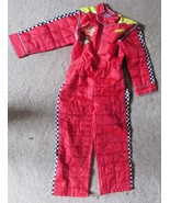 BJ  Size 8 Disney Store Cars Lightning McQueen Pit Crew Costume Jumpsuit... - $34.64