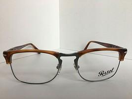 New Persol 8359-V 96 Terra di Siena 51mm Amber Eyeglasses Frame Italy - $94.99