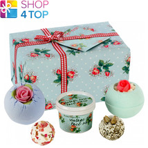 Petal Perfect Gift Pack Bomb Cosmetics Floral Jasmine Handmade Natural New - $18.80
