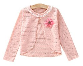 Children's Super Lightweight Shawl Kids Coat-Sun Protection Pink