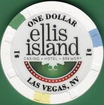 $1 Casino Chip, Ellis Island, Las Vegas, NV. I97. - $4.29