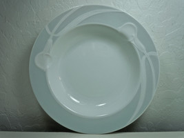 Mikasa Classic Flair Gray Soup Bowl Rimmed - $7.91
