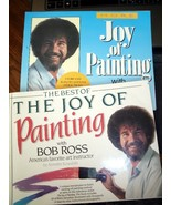 2 Instructional Books The Joy of Painting By Bob Ross  - $15.00