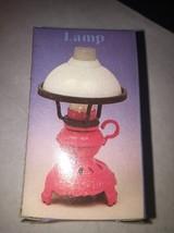 Vintage Old Fashioned Metal Pencil Sharpener Lamp 6025 w/ Box Pink - $14.70