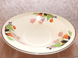 Hall Crocus Soup / Cereal Bowl Vintage Crocus Pattern Dishware Dinnerwar... - $29.99