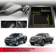 Center Console Storage Armrest Box Tray For Chevrolet / Holden Colorado ... - $34.60