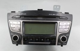 10 11 12 13 HYUNDAI TUCSON AM/FM RADIO CD PLAYER RECEIVER OEM - $49.49