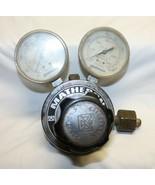 Matheson Regulators 8L-350 regulator w/ 2 gauges gauge gas products 3000PSI - $49.49