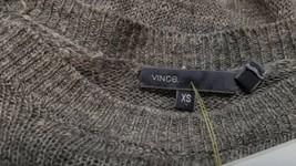 Vince Women Gray Crop Sweater Sz XS image 2