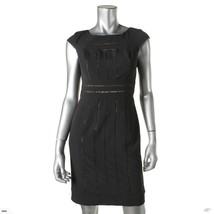 NWT Adrianna Papell Women's Petite Cocktail Dress 10 Black 013226482 - $34.64