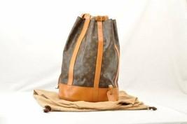 LOUIS VUITTON Monogram Randonnee GM Shoulder Bag M42244 LV Auth 9482 - $540.00