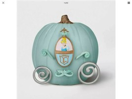 Cinderella Halloween Pumpkin Push Ins & Paint Jack-O-Lantern Decorating ... - £15.16 GBP