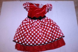 Youth Girls Minnie Mouse Girls S Costume Outfit Dress Disney - $23.36